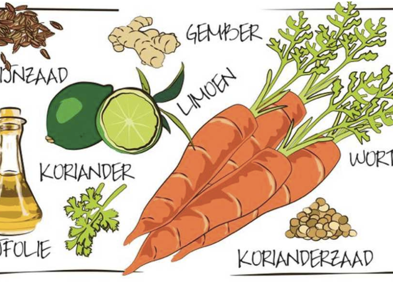 Kleurrijke salade bomvol smaak